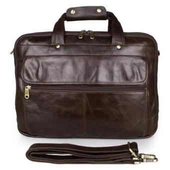 Túi công sở da thật KIKI Bags K12 (Nâu)