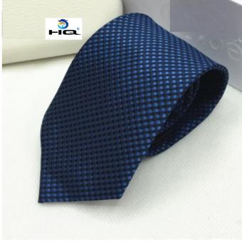 Cà Vạt Nam Bản Vừa Hiện Đại Cá Tính HQ 0TI09-1 (xanh)