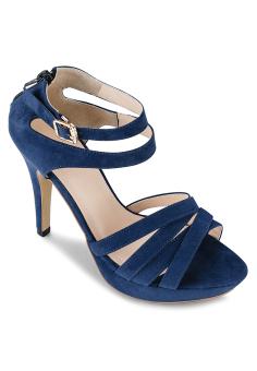 Giày cao gót Lozido L035 (Xanh)