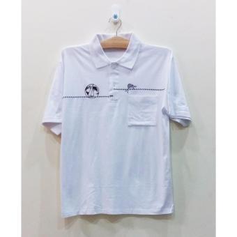 Áo thun cotton nam trung niên THÁI LAN Big Size ATN054 (Trắng)