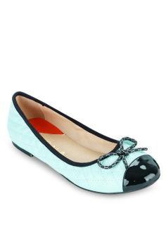 Giày Búp Bê Nơ Nhỏ xanh da trời SCALA