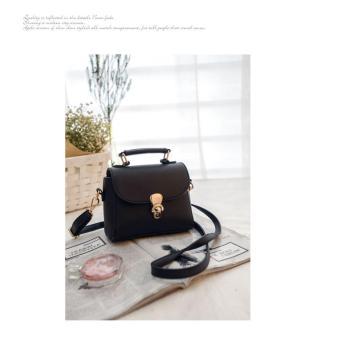 Túi xách tay, đeo vai nữ thời trang HQ (màu đen)