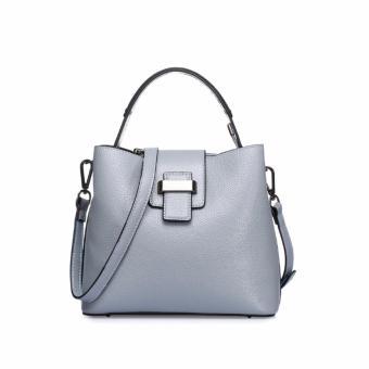 Túi xách nữ da thật phong cách Châu Âu QSL005 (Xanh thanh bình) - 3051614