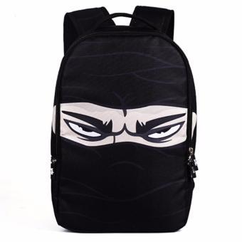 Ba lô vải dù mặt ninja Tâm Bình N89 (Đen)