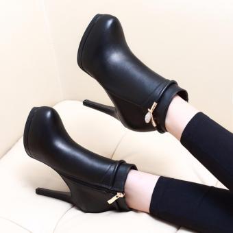 Giày Boot nữ cao cấp B076