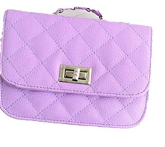 Women PU Leather Messenger Satchel Crossbody Handbags sPurple - Intl