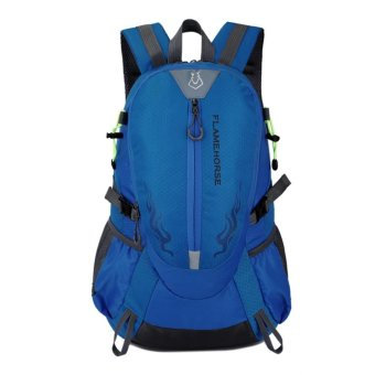 Fashion Waterproof Outdoor Sports Shoulder Bag Travel Backpack (Sky Blue) - intl