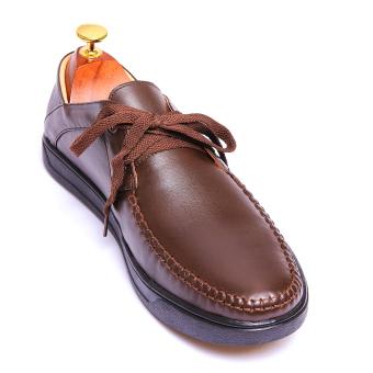 Giày lười nam da thật Da Giày Việt Nam VNLMT2LZA62N (Nâu)