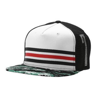 Hot Men Women Bboy Hip Hop Adjustable Baseball Snapback Hat (White) - intl