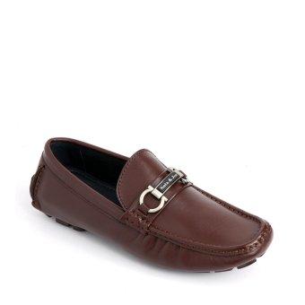 Giày nam GS6017 - Nâu