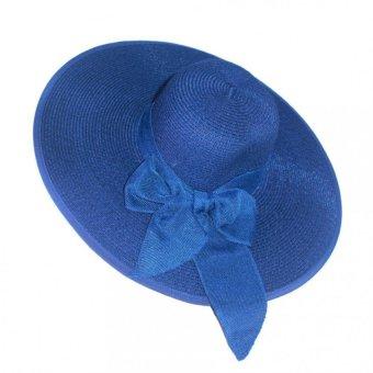 Mũ cói thời trang nữ vành rộng đi biển Salome Fashion