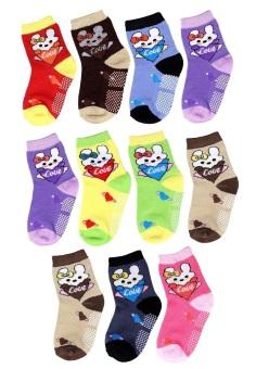 Bộ 11 đôi tất vớ trẻ em từ 5-8 tuổi bé gái SoYoung 11SOCKS 003 5T8 GIRL