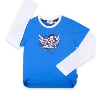 Áo thun tay dài bé trai Oiwai 68-0057-051 BLE (xanh)