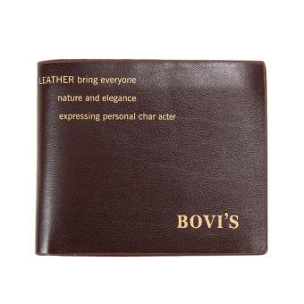 New Men Bifold Wallet(Coffee) - intl