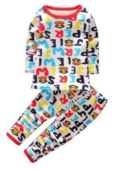 Bộ đồ lót lông cho bé TED13 Family Shop (Họa tiết)