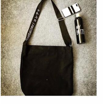 Túi đeo chéo Thời Trang GASSA - TDC001D (Đen)