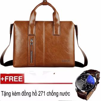 Túi Xách Da Zefer 999 + Tặng Đồng Hồ