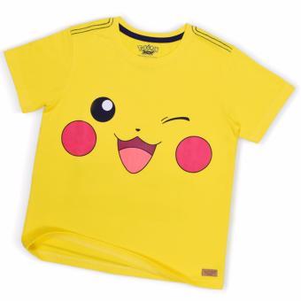Áo T-shirt bé trai in hình Pikachu Kavio Kids