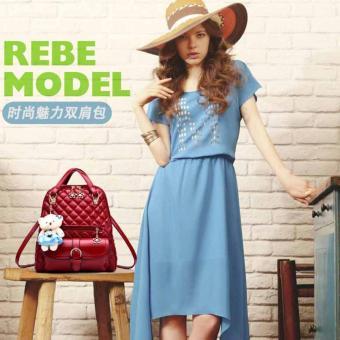Balo thời trang nữ BL017 (Đỏ)