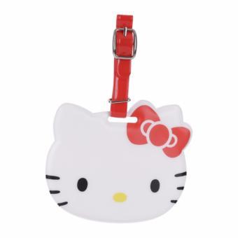Thẻ bảng tên Hello Kitty gắn vali du lịch (Bản quyền Sanrio, Nhập khẩu Nhật Bản)