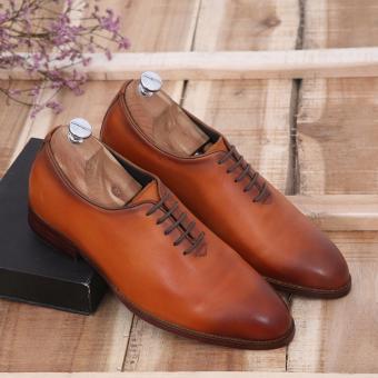 Giày công sở nam tăng chiều cao GC-02S (Nâu)