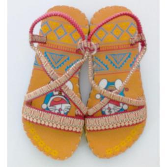 Sandal thổ cẩm baby (Bò)TFB8532 #33