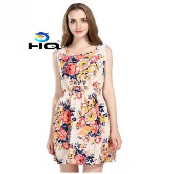 Váy Đầm Nữ Voan Hoa Thời Trang HQ 3TI43.