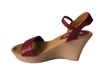 Giày Cao Gót Đế Bằng (Nâu)