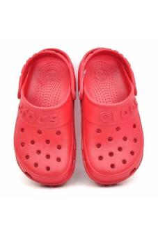 Xăng đan bé trai Crocs - Crocs Hilo Clog K Pepper (Đỏ)