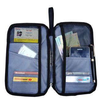 Ví Passport Cầm Tay M03 (Đen)