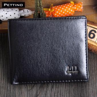 Ví Da Nam Cao Cấp - Pettino VN02 (đen)