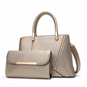 Combo túi xách nữ DANTE cao cấp DAT023 (Ánh kim) - 3868493