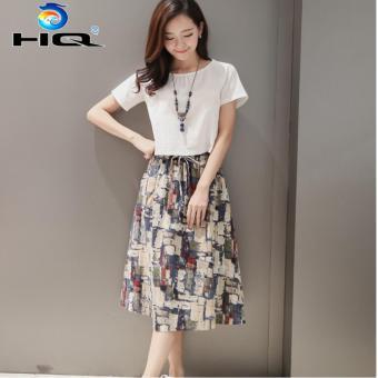 Bộ Đầm Kèm Áo Ngắn Thời Trang Phong Cách Hàn Quốc HQ 3TI93