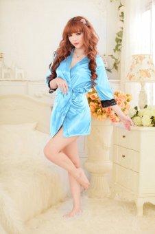 Váy ngủ gợi cảm 1045 (Xanh Dương)
