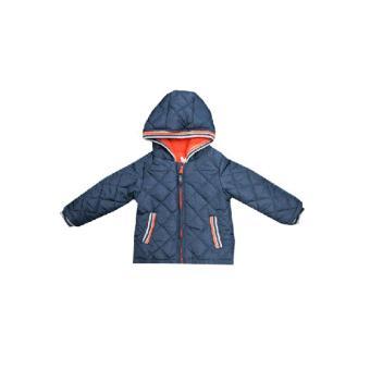 LF Áo khoác lạnh tay dài có mũ cho bé Luvable Friends - 18-24M - Xanh mực