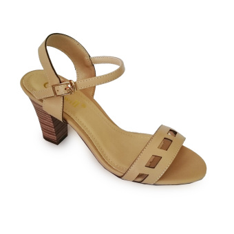 Giày sandal nữ cao gót 7f vân cắt lazer