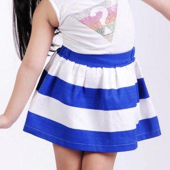 Chân váy Ugether UKID32 (Sọc xanh)