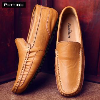 Giày Lười Nam Cao Cấp - Pettino GL02 (nâu)