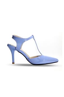 Giày cao gót 7 phân ANALE (Xanh)