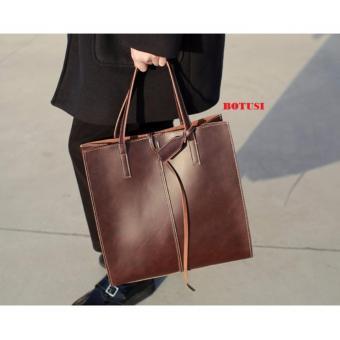 Túi xách nữ da bò cao câpLavan2-BTS(nâu)