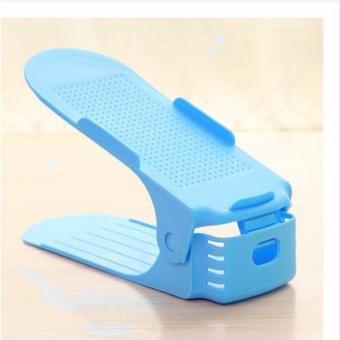 Bộ 5 kệ để giày thông minh điều chỉnh độ cao KG-01-BLUEP5 (Màu xanh)