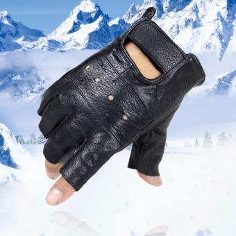 Bộ 2 găng tay da thể thao GT40 (Màu đen)