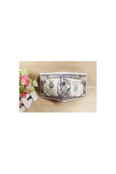 Bóp Da Hình Tiền Hình Đô La