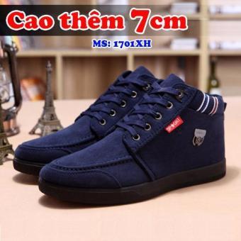 Giày Công Sở Tăng Chiều Cao 7cm Bluesky Tinto 1701xh