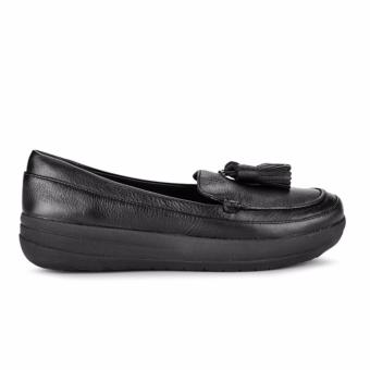 Giày thể thao Fitflop FFW F-Sporty Tassel Loafers (Đen)