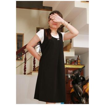 Bộ đầm yếm và áo - thiết kế Lê Dương