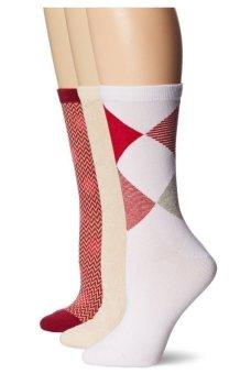 Bộ 3 đôi tất (vớ) nữ Cole Haan Women's Mixed Trouser Socks 3-Pack (Mỹ)