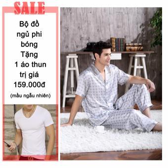 Bộ quần áo ngủ + Tặng 1 áo thun nam