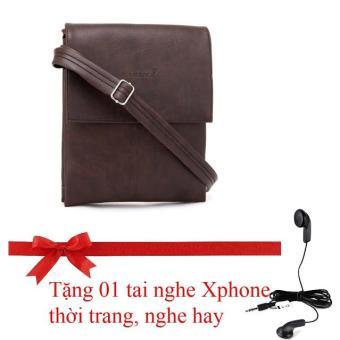 Túi đeo chéo Đẳng cấp, Phong cách, Thời trang HNM CB2 (Tặng tai nghe Xphone Thời trang nghe hay)