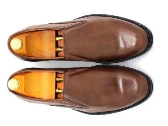 Giày Tây Nam Da Bò Italy Cao Cấp Antoni Fernando - Af 204-4 (Nâu)